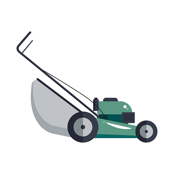 Best Lawn Mower Illustrations, Royalty.