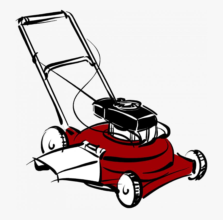Clip Art Lawn Mower Cartoon #470119.