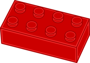 Red Lego Brick Clip Art at Clker.com.