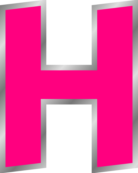 Letter H Clip Art at Clker.com.