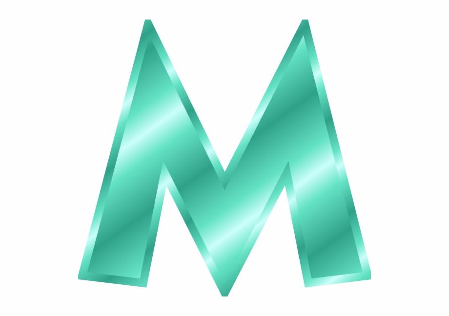 clip art letter m #8