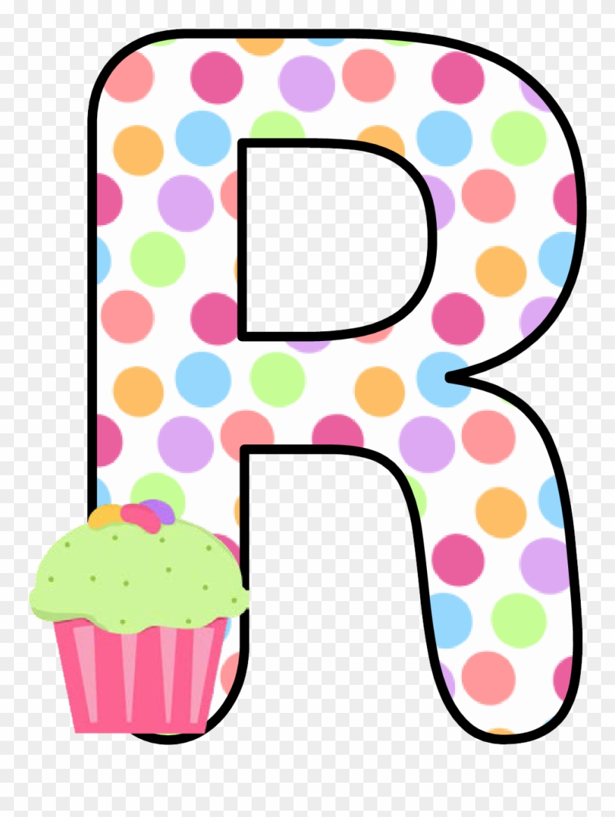 Alphabet Letters, Kid, Cupcakes, Sweet Pastries, Conch.