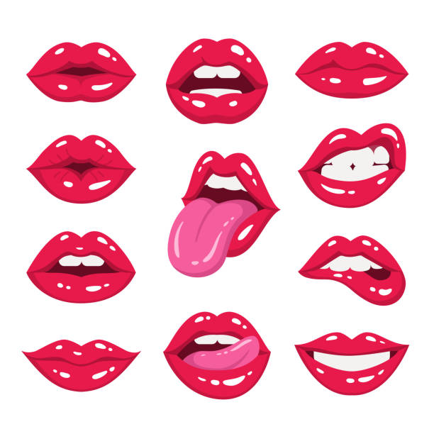 Best Licking Lips Illustrations, Royalty.
