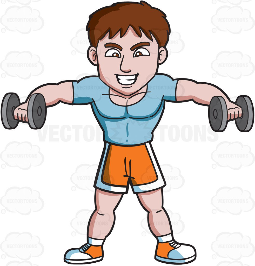 Man lifting weights clipart 4 » Clipart Station.