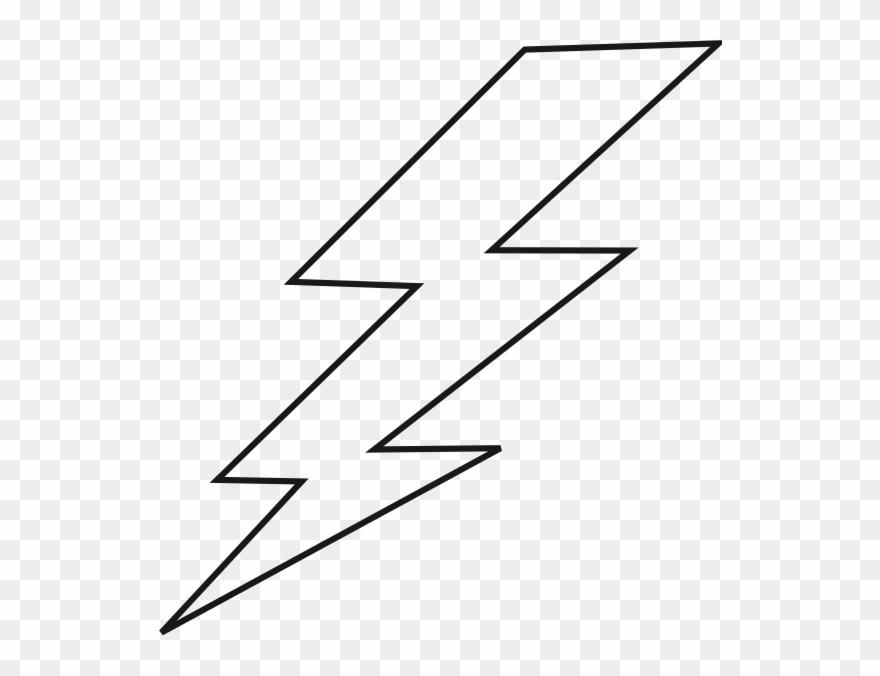 Lightning Black Bolt Clip Art.