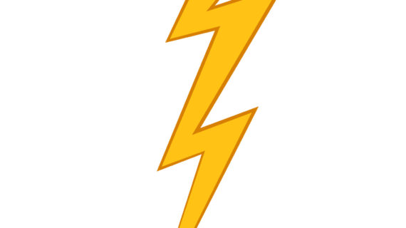 Collection of Lightning bolt clipart.