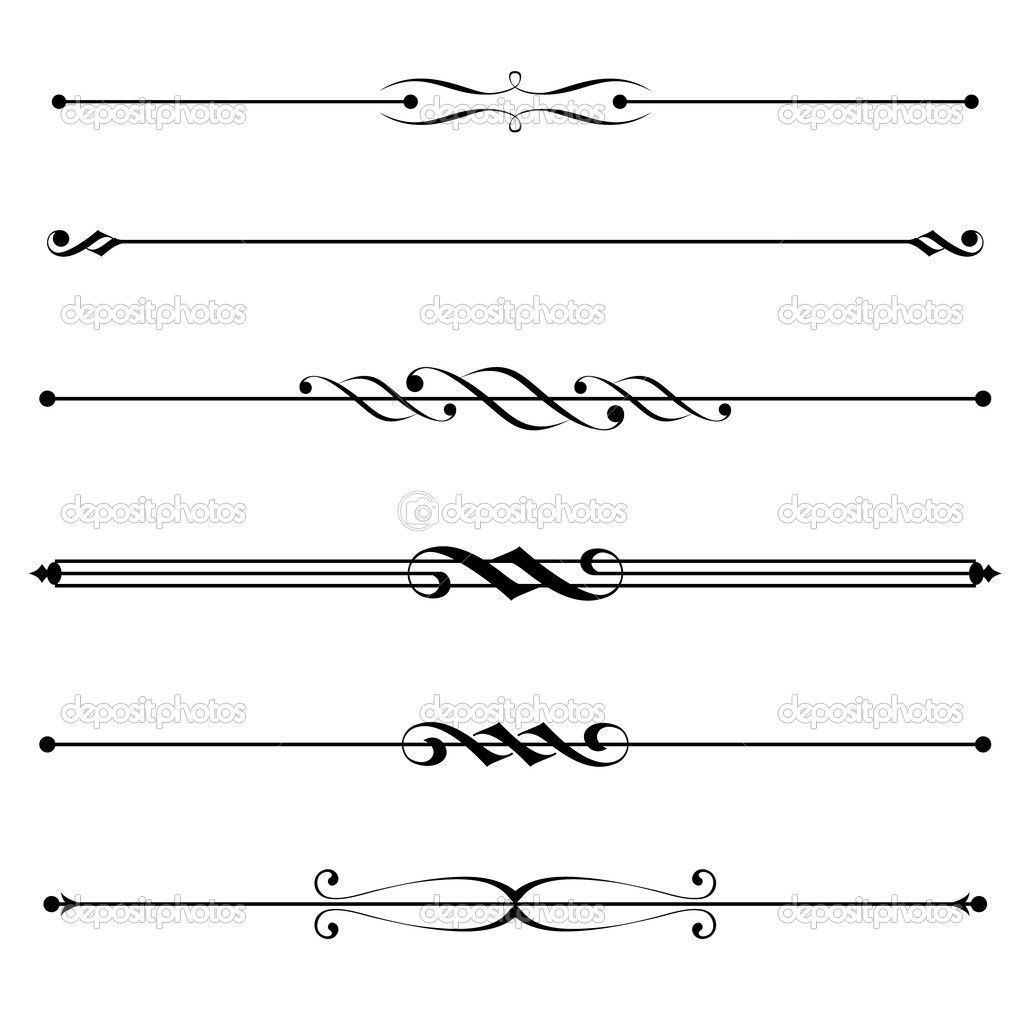 free clipart lines and dividers.