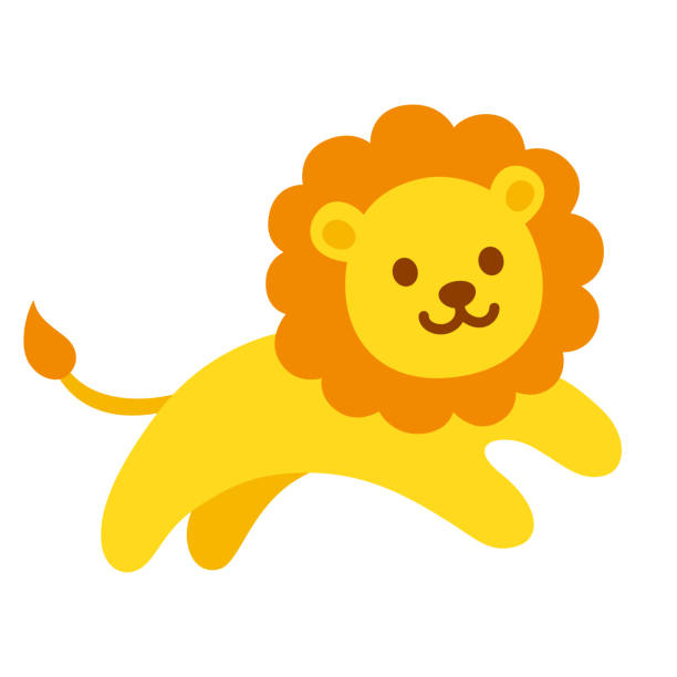 Best Lion Cub Illustrations, Royalty.