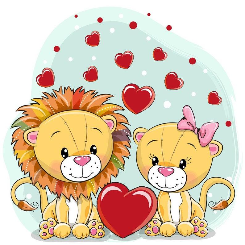 Lions kids Clip Art.