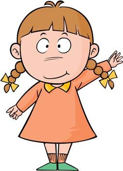 Free Little Girl 10 Clipart and Vector Graphics.