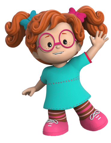 Little People Sofie transparent PNG.