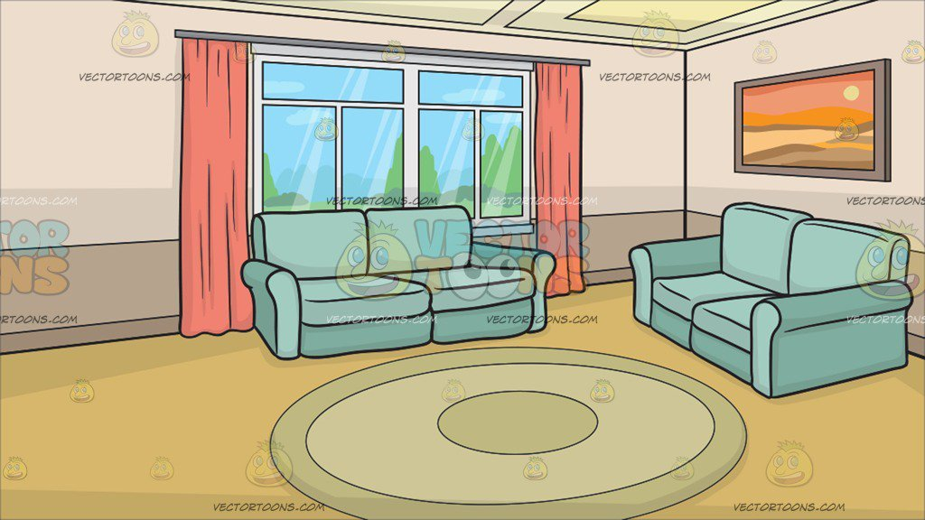 A Small Living Room Background.