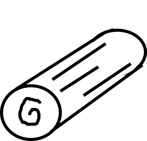 Log Outline Clip Art at Clker.com.
