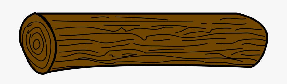 Brown Log Clipart.