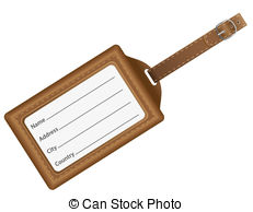 Luggage tag clipart 2 » Clipart Station.
