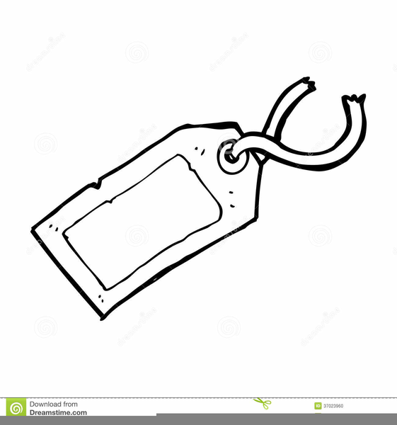 Luggage Tag Clipart.