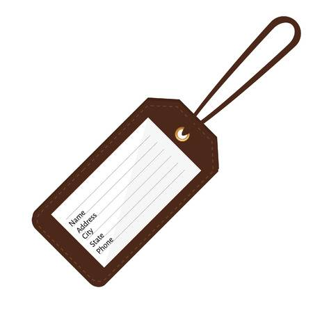 Luggage tag clipart » Clipart Station.