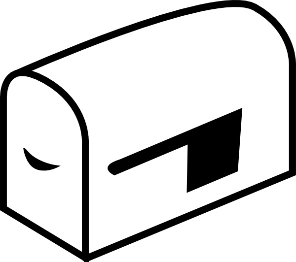Mailbox clip art Free vector in Open office drawing svg ( .svg.