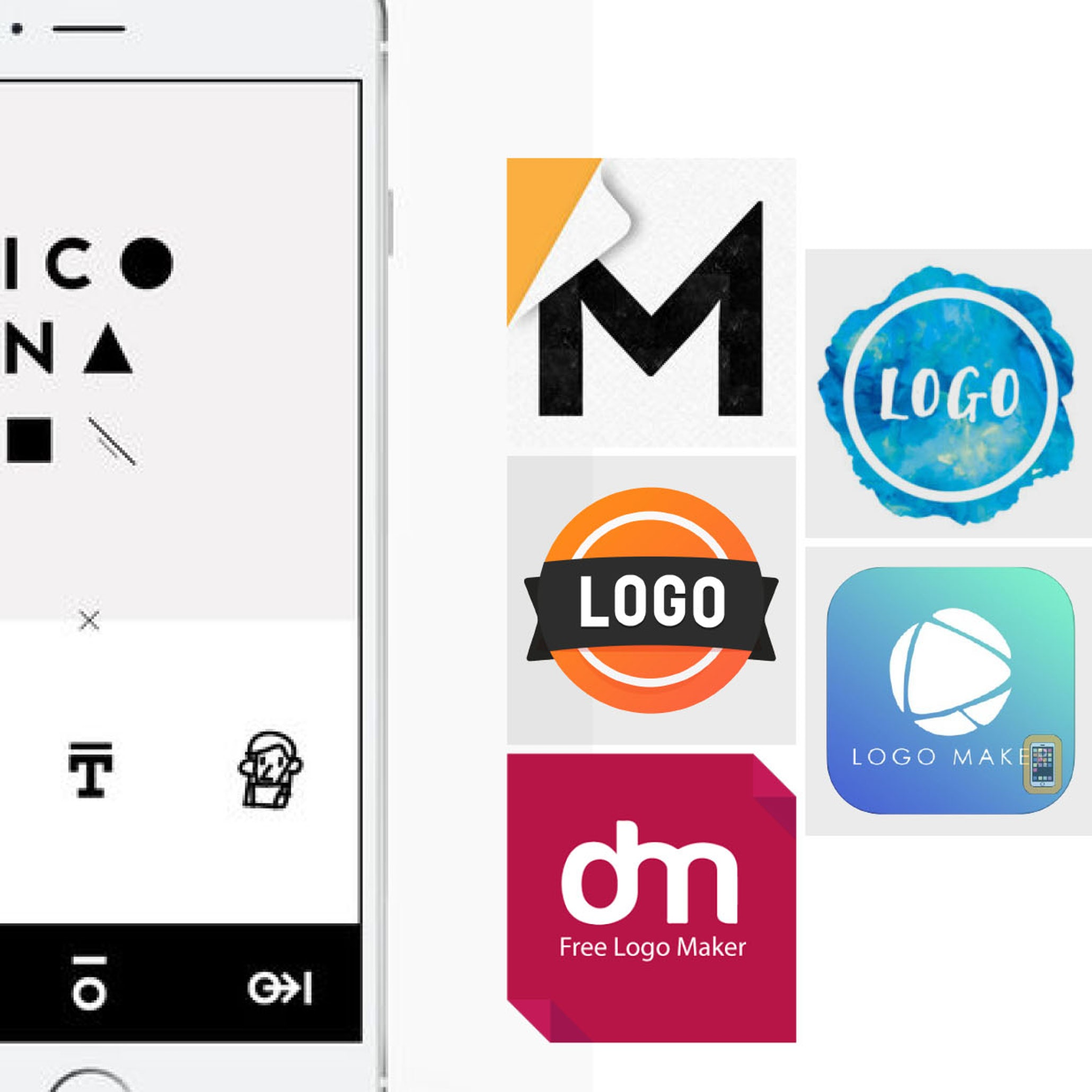 8 best logo design apps to help you build a brand with your smart.