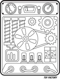 Image result for MAKER FUN FACTORY BLAck and white LOGO CLIP ART.