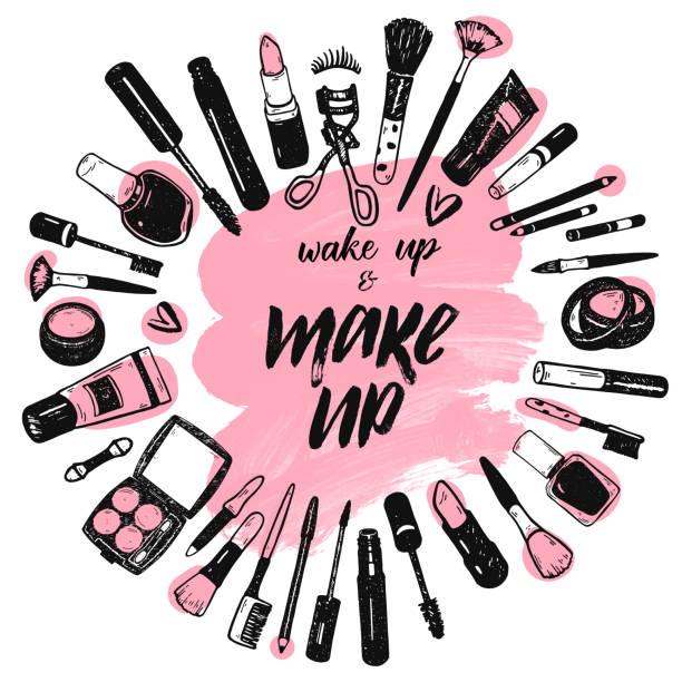 Top 60 Makeup Clip Art, Vector Graphics and Illustrations.