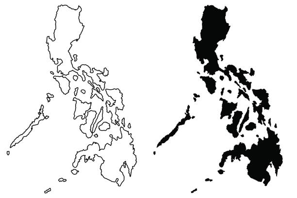Best Philippines Map Illustrations, Royalty.
