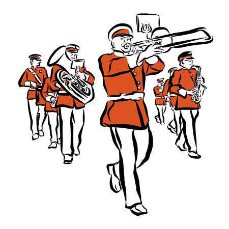 470 Marching Band Stock Illustrations Cliparts And Royalty Free.