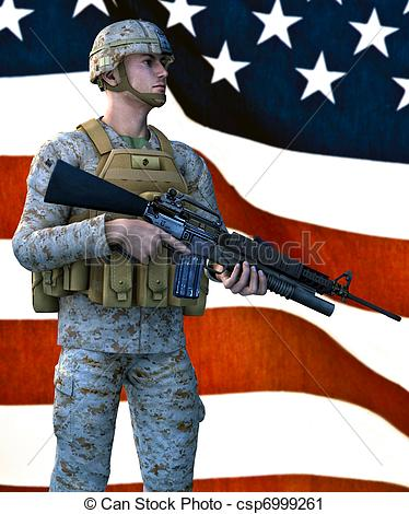 Us marines Clipart and Stock Illustrations. 682 Us marines vector.