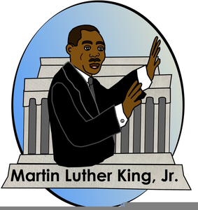 Free Clipart Martin Luther King Jr.