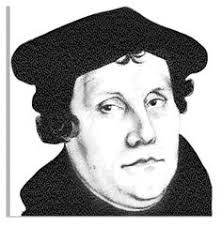 Image result for martin luther reformation clipart.