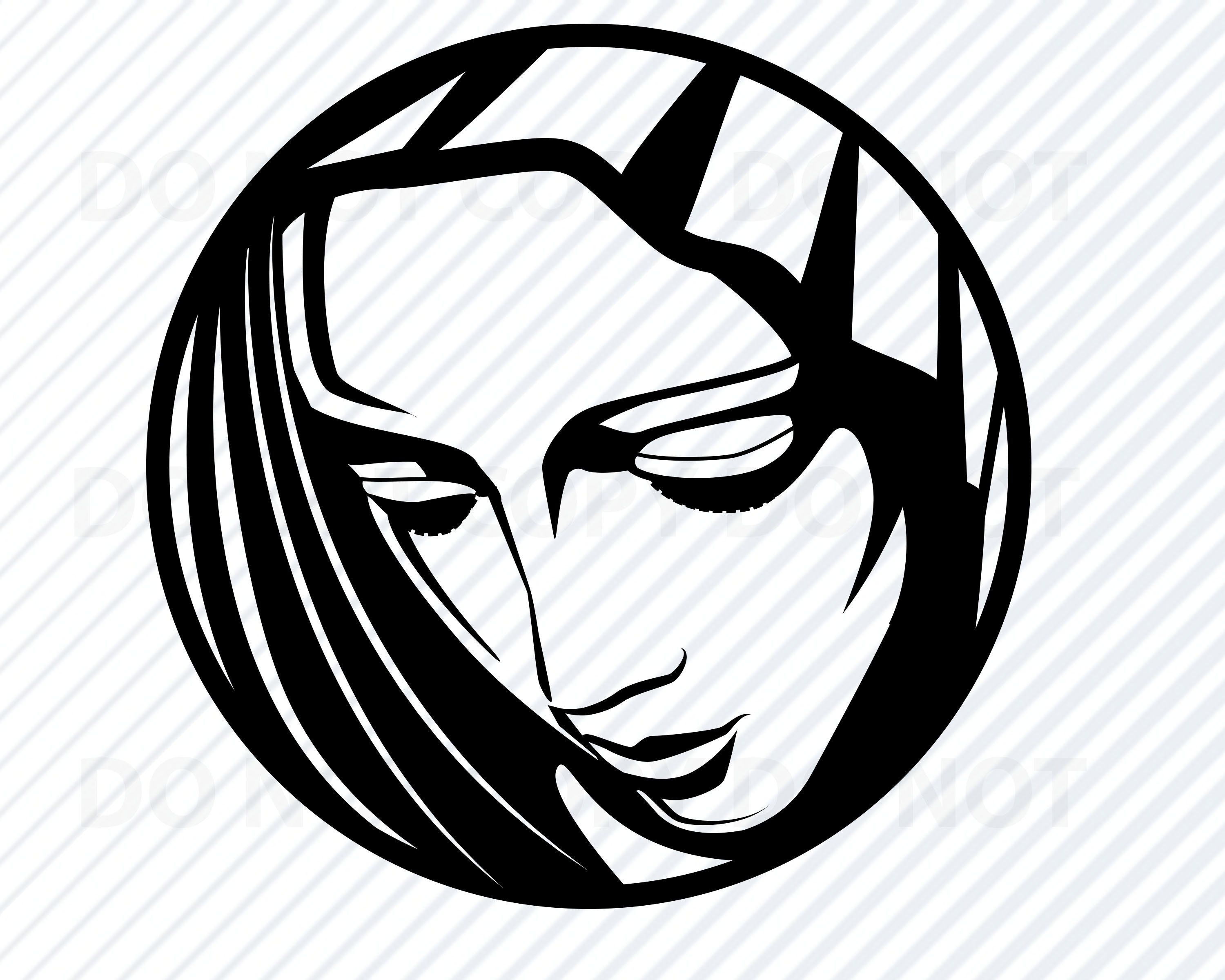 Mother Mary SVG Files For Cricut.