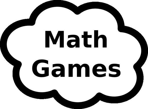 Math Games Sign Clip Art at Clker.com.