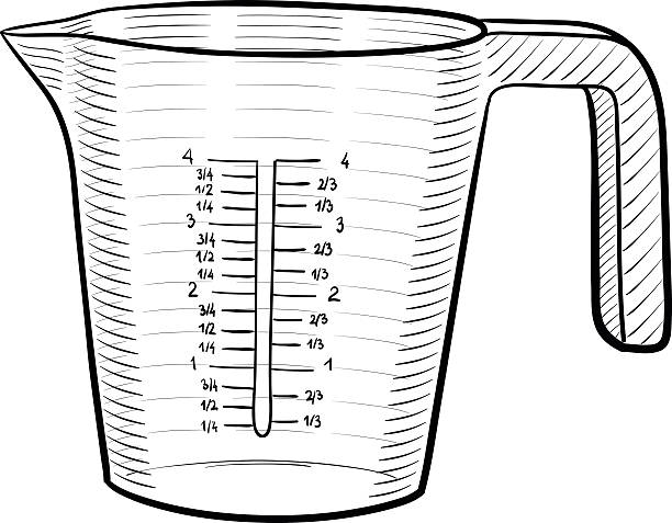Best Measuring Cup Illustrations, Royalty.