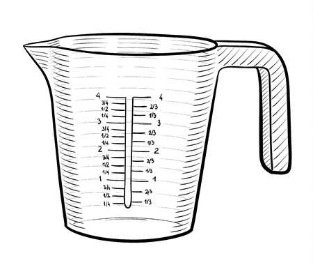 3,969 Measuring Cup Stock Illustrations, Cliparts And Royalty Free.