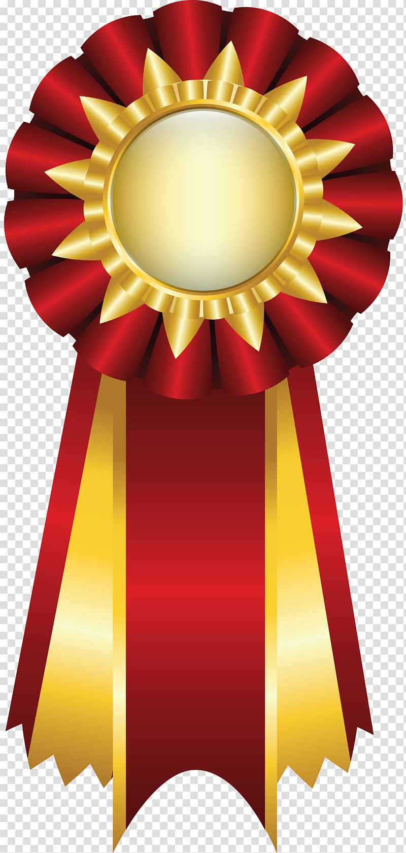 Ribbon Rosette , medal transparent background PNG clipart.