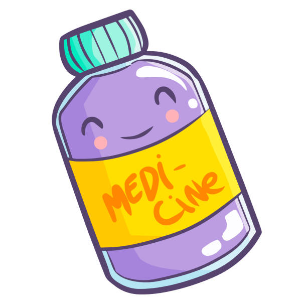 Best Taking Medicine Illustrations, Royalty.