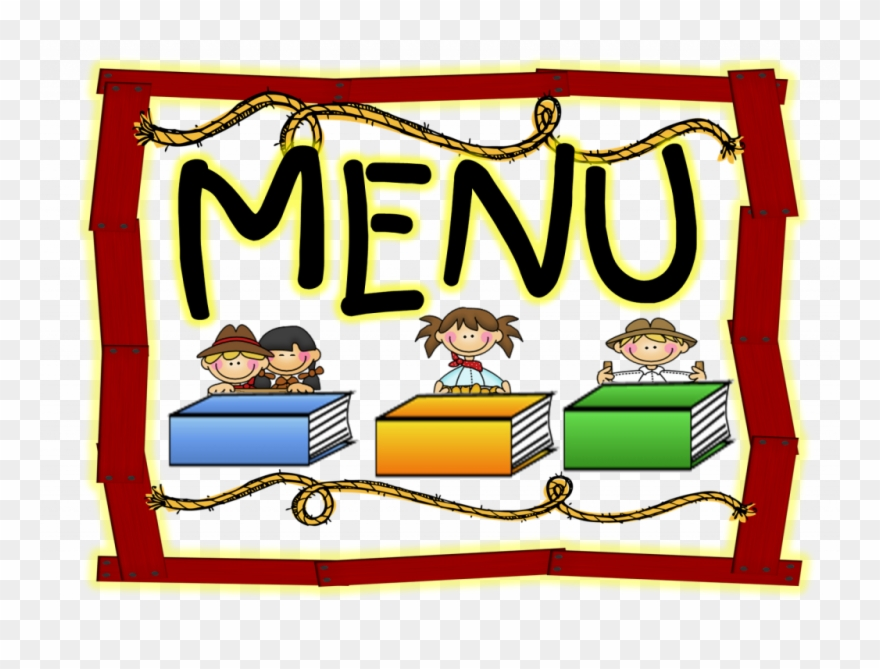 October Lunch Menu Happy School Menu Clipart 1600 1144.