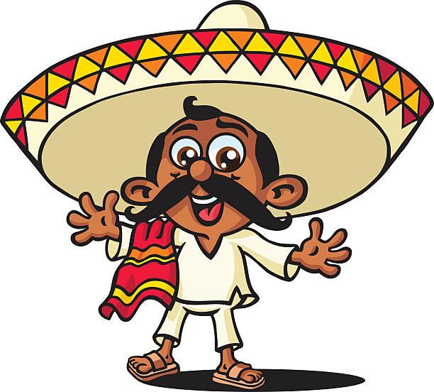 Mexican Man Clipart.