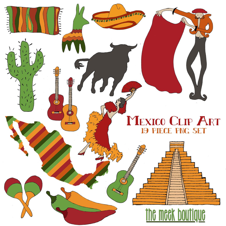 Mexican Clip Art Free.