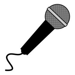 Free microphone clipart from icontoon.com. These images can be used.