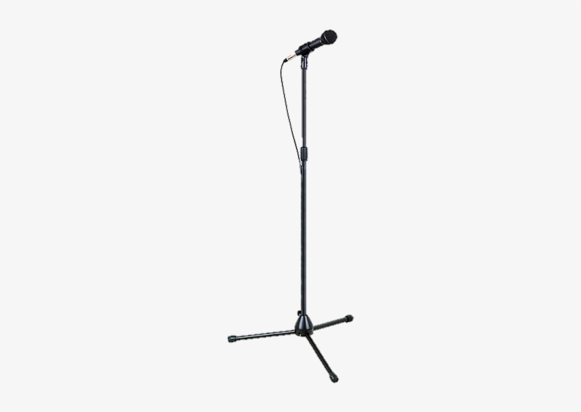 Kids Microphone With Stand Clipart.