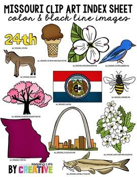 Missouri State Clip Art.
