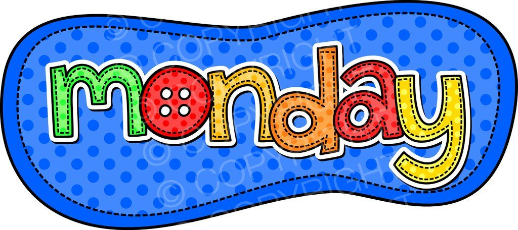 Clipart monday 3 » Clipart Station.