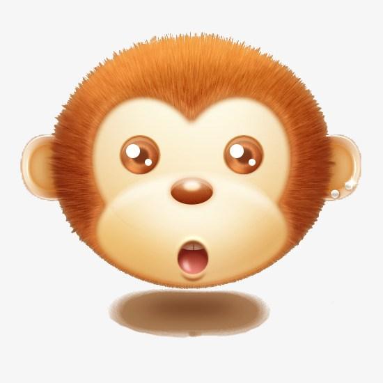 Monkey head clipart 2 » Clipart Portal.