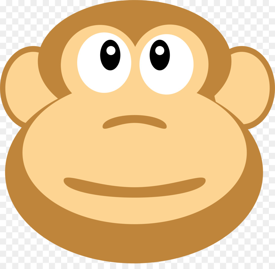Monkey Cartoon clipart.