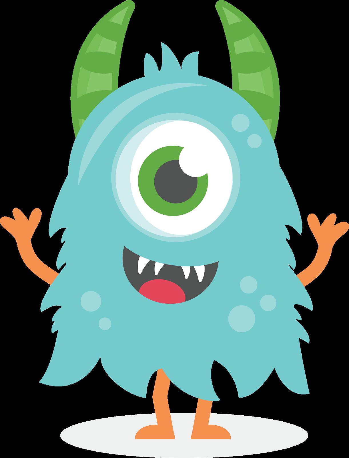 monster clipart cute.