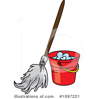 Mopping Clipart #1097221.