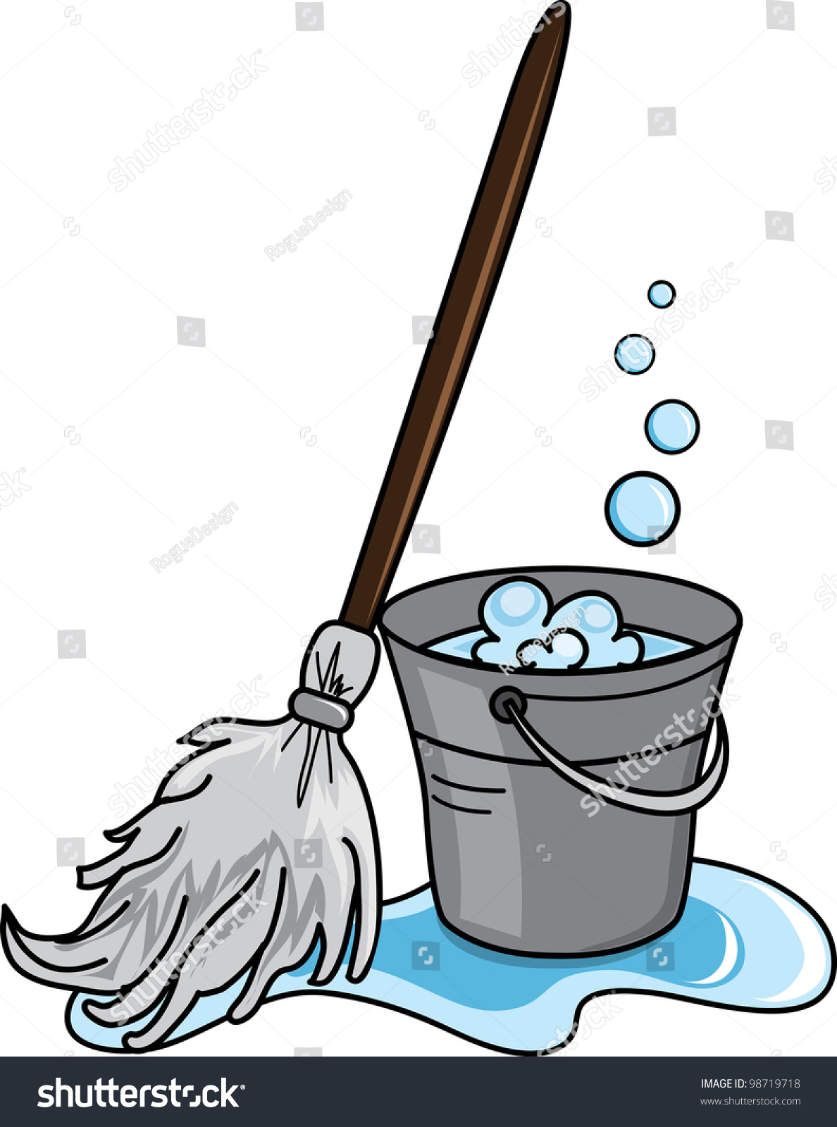 Clipart mop 7 » Clipart Station.