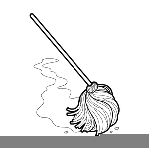Mop Bucket Clipart.
