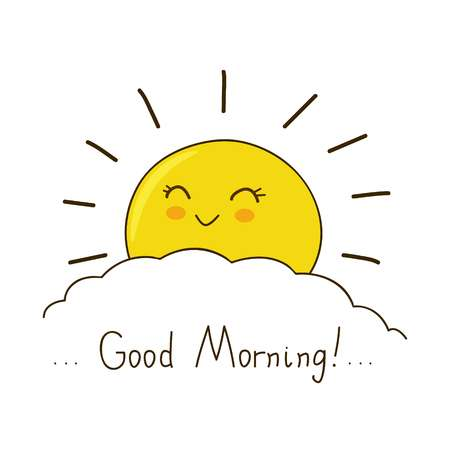 9,329 Good Morning Stock Vector Illustration And Royalty Free Good.